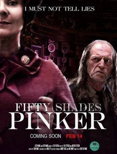 "Harry Potter Fifty Shades Pinker ""I must not tell lies"" Umbridge & Filtch, now that's a slash fic!"