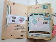 More Happy Little Moments - Intro Pages by sweetpeaink at Studio Calico
