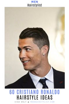Discover the most impressive hairstyles worn by Cristiano Ronaldo and learn how to style them #menhairstylist #menhairstyle #menhaircut #haircutsformen