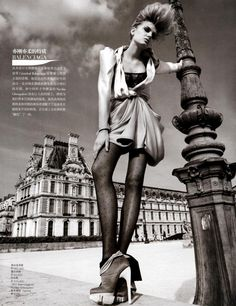 Shoot: Patrick Demarchelier  Model: Lily Donaldson  Magazine: Vogue China November 2009