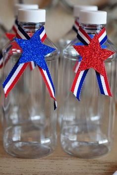 drinks at a 4th of july party
