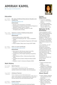 Sample Resume For Teaching Position Resume Examples After First Job  Pinterest  Resume Examples