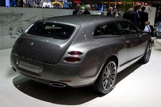 Car Bentley Continental Flying Spur 2016.