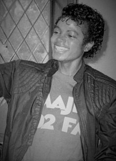 Michael Jackson - Cuteness in black and white ღ  by ⊰@carlamartinsmj⊱