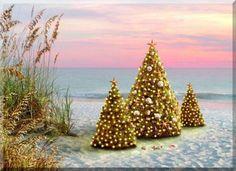 Christmas: Southern Glamour / karen cox. .... Christmas Beach