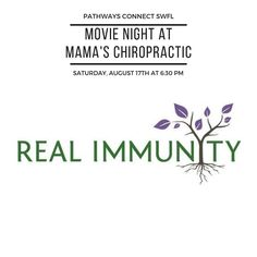 We are 10 days away from our Pathways Connect SWFL family event where we will be., We are 10 days away from our Pathways Connect SWFL family event where we will be screening the epic documentary Real Immunity.⠀ ⠀ Just in time for b. Chiropractic Therapy, Chiropractic Clinic, Family Events, Trust Yourself, Pathways, Back Pain, 10 Days, Documentary, Intuition