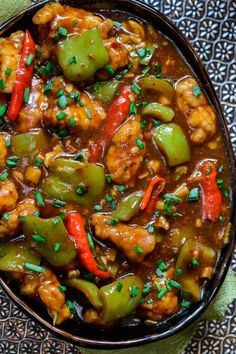 Chili Garlic Chicken
