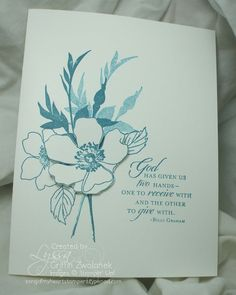 LOVE these cards - clean and simple and sooo pretty