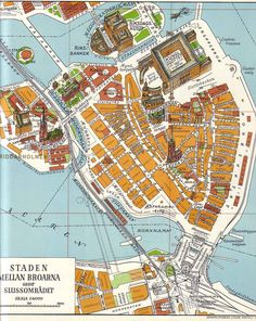 Gamla Stan, Stockholm's old town. Stockholm Old Town, Visit Stockholm, Stockholm Sweden, Swedish Traditions, Map Compass, Scandinavian Architecture, Map Globe, Most Beautiful Cities, Norway