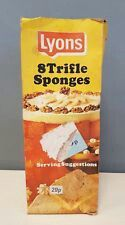 Lyons trifle sponges , we always had some of these in the back of the cupboard