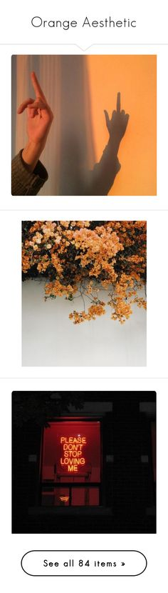 """""""Orange Aesthetic"""" by saraxx113 on Polyvore featuring backgrounds, pictures, aesthetic, photo, pictures - yellow, quotes, phrase, saying, text and fire"""