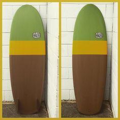 five six mini simmons deluxe. all resin. Amber tint fins #boom #yew #yeahlonghair #blackapache