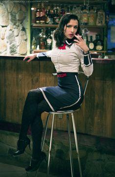 BioShock Infinite: Burial at Sea Elizabeth Cosplay http://geekxgirls.com/article.php?ID=2261