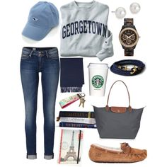 Comfy School Outfit, not very preppy in the slightest, but nonetheless a cute outfit