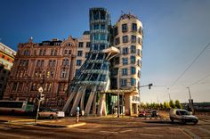 Dancing Building, Prague, by Frank O. Frank Gehry, Ginger Rogers, Fred Astaire, Birmingham, Prague, House, Architecture Design, Spain, Around The Worlds