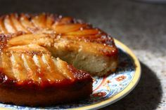 Pear cardamom upside down cake: 1.5 cups all purpose flour, 1.5 sticks butter (3/4 cup) at room temperature, 1/2 teaspoon cardamom, 3/4 cup packed brown sugar, 1 tsp vanilla  juice of 1/2 lemon, 3/4 cup granulated sugar, 2 tsp baking powder, 2 eggs, 1/2 cup milk, 2 anjou pears, peeled, cored and sliced, 1/4 tsp salt