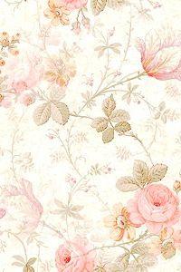 Warm flower background