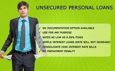 Unsecured Personal Loans in California check it http://e-creditloan.com/