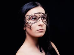 Morgan le Fay wire mask by UrsulaOT.deviantart.com on @deviantART