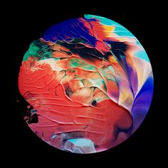 It's Nice That : Mesmerising psychedelic compositions by artist Sam Chirnside