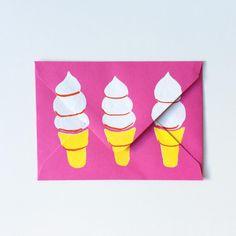Vanilla soft serve in cake cone