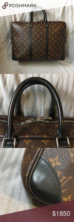 1769831b3bff Louis Vuitton Portfolio Voyage GM 100% Authenticity Guaranteed Louis Vuitton  Portfolio Voyage GM Accessories