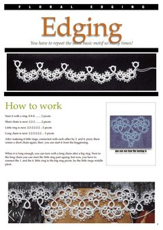Floral edging.pdf I like this edging and it would make a lovely necklace. (with beads!)