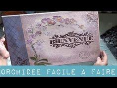 Tableau Orchidées Facile - YouTube