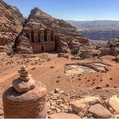 #LonelyPlanet #travel photographer, @kylieam, is currently in #Jordan where she has visited the spectacular sandstone city of #Petra. This shot is of the Monastery, taken high in the hills, and is one of the legendary monuments of Petra. Similar in design to the famous Treasury but far bigger (50m wide and 45m high), it was built in the 3rd century BC as a Nabataean tomb. It derives its name from the crosses carved on the inside walls, suggestive of its use as a church in Byzantine times.
