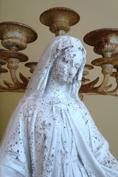 HUGE Miraculous Mary Statue Virgin Mary Madonna by edithandevelyn, $175.00