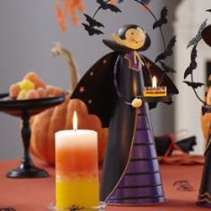 Love this!  I have this one and his girlfriend the witch for my mantle for halloween!!