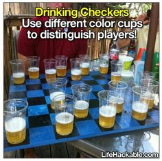 Beer checkers