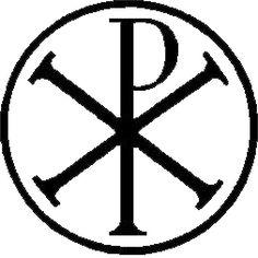 Image result for Bishops staff, wooden, chi rho