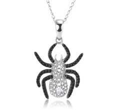 8/27/2012 Visit the Zoo Collection  $12.99  + FREE SHIPPING Black Diamond Accent Sterling Silver Spider Pendant