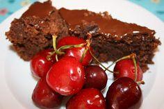 La tarta de Chocolate (mejorada) ~ Bizcocho de Chocolate