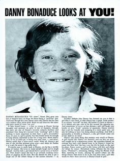 DANNY BONADUCE [Danny Bonaduce Looks At You!] SPEC 3|1971 Danny Bonaduce, Susan Dey, Partridge Family, David Cassidy, Helpful Hints, Sisters, Celebrities, Photos, Useful Tips