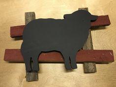 Baaa Baaah Black Sheep Chalkboard by ProvenanceSonoma on Etsy