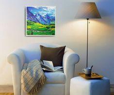 Buy Paintings, Landscape Paintings, Decorating Blogs, Interior Decorating, Modern Impressionism, Canvas Pictures, Art Decor, Home Decor, Decoration
