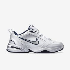 Nike athletic shoes at Kohl's - Shop our selection of men's shoes, including these Nike Air Monarch cross-trainers, at Kohl's. Nike Shoes Size Chart, Nike Shoe Size, Mens Training Shoes, Cross Training Shoes, Black And White Sneakers, Black Nikes, Mens Nike Air, Nike Men, Nike Cross Trainers