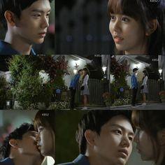 """@SHY_3424: 150609 Who Are You: School 2015 Gong Tae Kwang KISSED Lee Eun Bi ~   #후아유 #학교2015 #김소현 #남주혁 #육성재 """