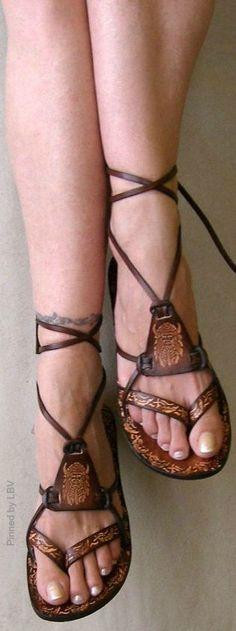 Strappy Sandals | LBV ♥✤