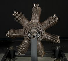 Gnome Omega Rotary 7 Engine Aircraft Engine, Aircraft Design, Cylinder Head, Rotary, Scale Models, Gnomes, Omega, Two By Two, Engineering