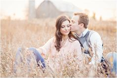 Engagement Session. Rustic. Glowy. Romantic.