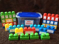 """My students love these and finally """"get"""" note subdivisions! I can't live without these.   Rhythm building blocks that promote musical literacy. $20.00, via Etsy."""