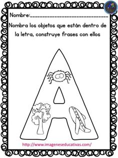 Dual Language Classroom, Letter Recognition, Teaching Kindergarten, Learning Spanish, Anchor Charts, Learning Activities, Phonics, Homeschool, Lettering
