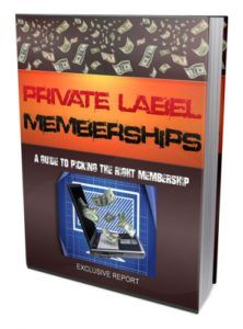 Private Label Memberships Guide  Learn How You Can Easily Use Private Label Rights Membership Sites To Leverage Your Business Efforts And MASSIVELY Boost Your Income!  A popular way to get a jump-start on your product creation and promotions efforts is tojoin a good private label membership program aka PLR (private label rights) site. Because a good PLR program can help you save a bundle of money time elbow grease and hair-pulling so that you do not have to create your own new products and…