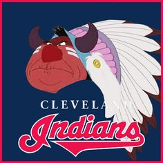 What If Disney Designed Every Sports Team's Logo?Cleveland Indians