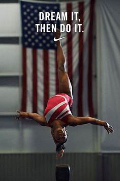"""""""It's the constant reminder of my goals that keeps me going."""" — Simone Biles"""