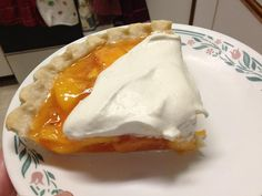 Fresh Peach Pie recipe on page 189 of the old Western Mennonite Cookbook (1) From: Ain't Complicated (2) Webpage has a convenient Pin It Button