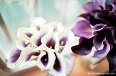 Modern Purple Bouquet Wedding Flowers Photos & Pictures - WeddingWire.com